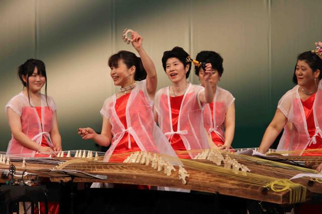 八木美知依作曲 サックス/クラチネットと箏群の為のシンフォニエッタ 沙羅双樹
