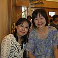 同級生、榊原玲子さんと