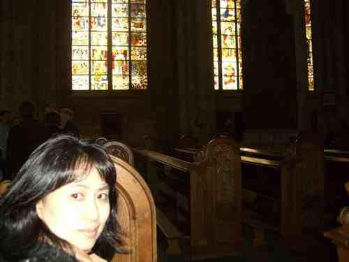 ケルン大聖堂の中1