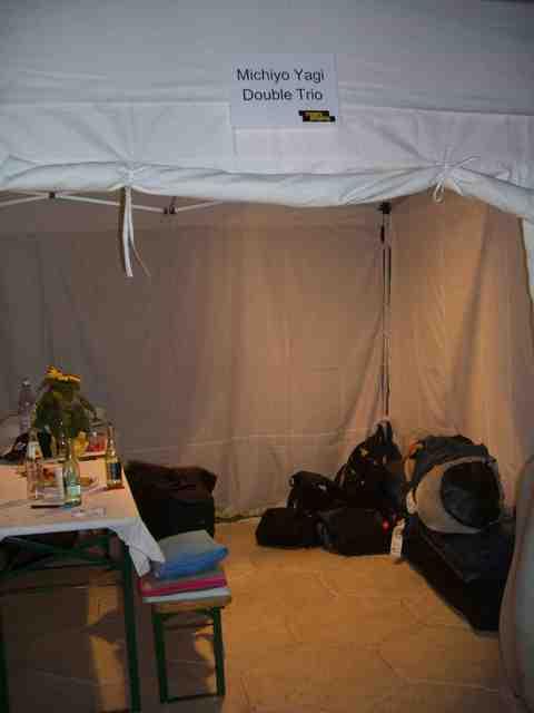 楽屋テント